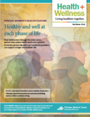 Health + Wellness fall/winter issue 2019