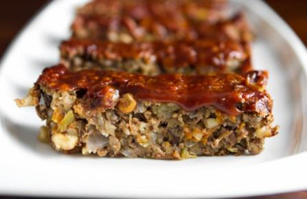 Lentil Walnut Loaf